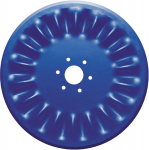 Bubble blade disk 1999 with 18 waves for planters