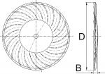 Disco 1927 Vortex cóncavo con onda media para labranza vertical de Bellota Agrisolutions