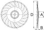 Disco 1957 Vortex cóncavo con platillo  con onda media para labranza vertical de Bellota Agrisolutions