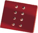 Placa pequeña 063601A para arado de vertedera 2357 Kverneland de Bellota Agrisolutions