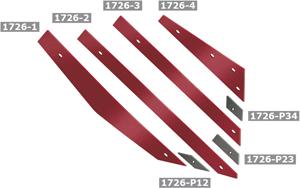 Gama de cuchillas adpatables Kverneland de Bellota Agrisolutions