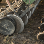 Seed drills for cereals such as wheat or barley and for maize and soya