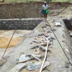 Fundacion Vicente Ferrer, built a dam with the economical help of Bellota Agrisolutions